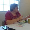 Nita-our-conference-chair-listens-to-linda-thumb