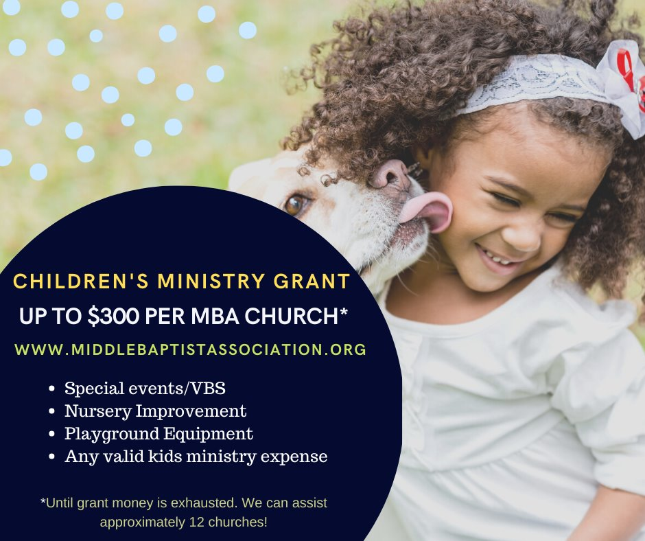 Children's ministry grant original