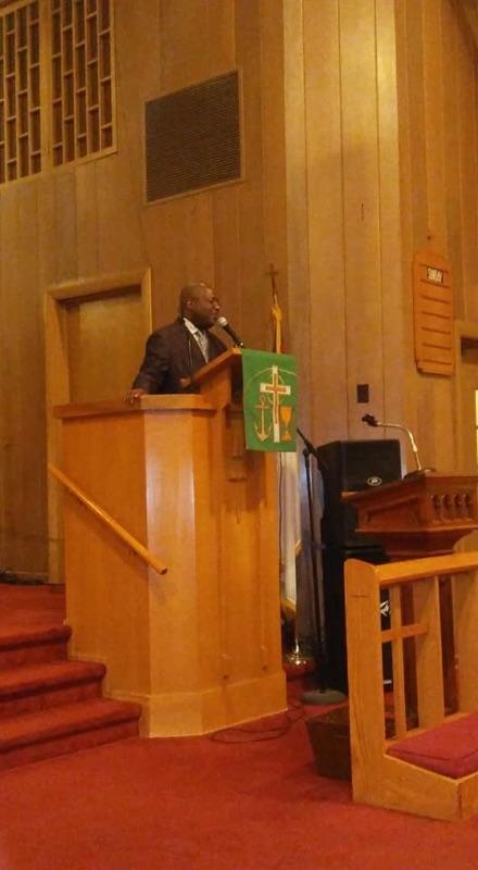 Pastor Fitzgerald Baker
