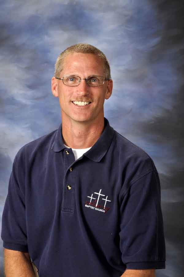 Mark Newman--Associate Pastor/Minister to Students
