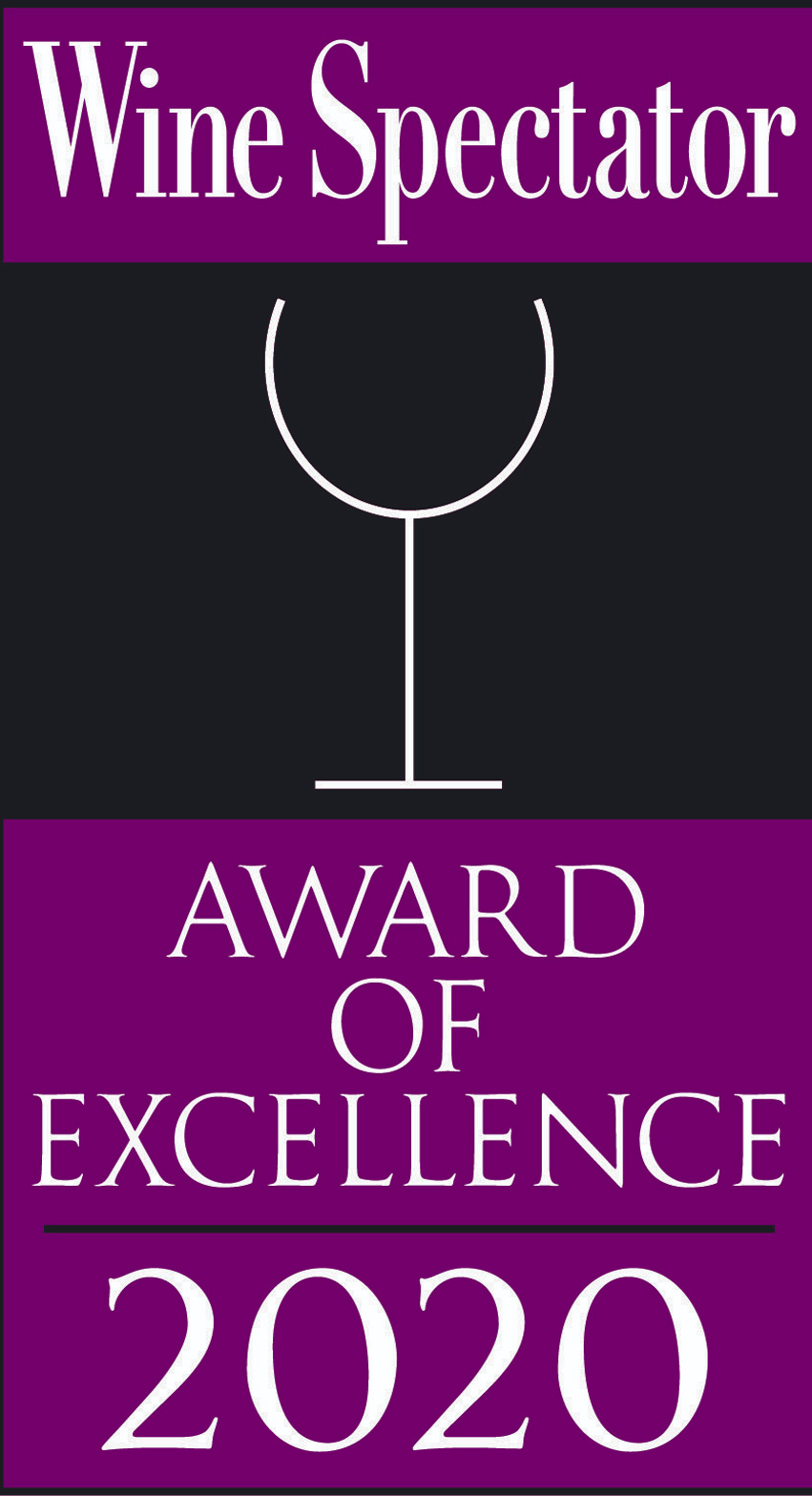 Twenty Eight Wine Spectator Award 2020