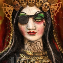 Pirate Mary PRINT 262 Reproduction from Sculpture by Michael Brown UC Studios
