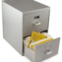 Mini Business Card File Cabinet