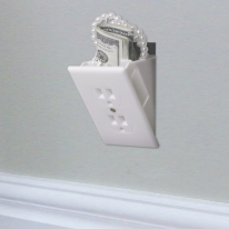 Hidden Wall Outlet Safe