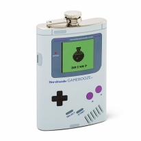 Nerdtendo Gamebooze 8oz Flask