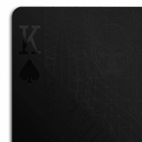 Black Playing Cards by MollaSpace