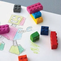 Building Block Crayons