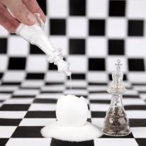 Check Mate Salt & Pepper Shakers