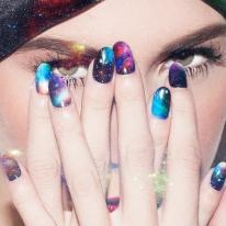 Galaxy Nail Wrap