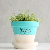 Herb Sticker Decals for Flower Pots