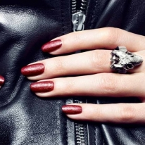 Leather Effect Nail Polish by nails inc.