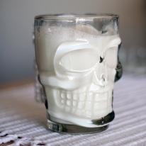 Crystal Skull Glass