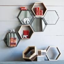 Eco Honeycomb Wall Shelves