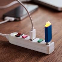 Electric USB Power Strip