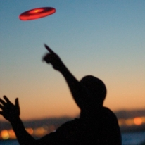 Light Up LED Frisbee Disc