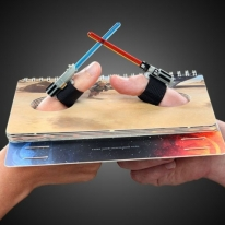 Lightsaber Star Wars Thumb Wrestling