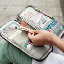 Multi-functional Travel Passport Holder