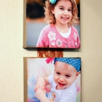 Photo Canvases- DIY Christmas Gifts Ideas