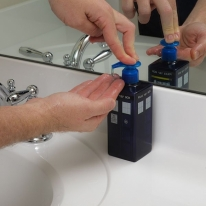Tardis Liquid Hand Soap Dispenser
