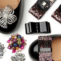 Absolutely Audrey Attractive Shoe Clips