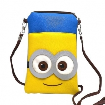 Despicable Me Two Eyes Minions Cute Coin Purse