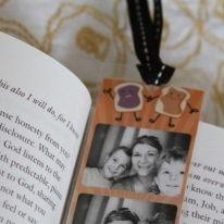DIY Photo Bookmark for Grandma