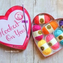 DIY Yarn Valentine