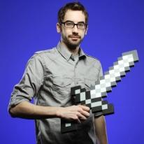 Minecraft Foam Iron Sword