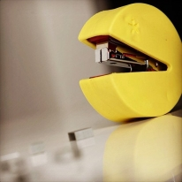 Pac-Man Mini Stapler