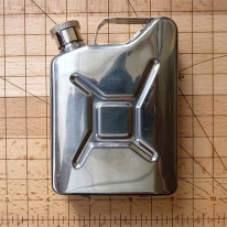 Petrol Can Hip Flask