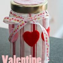 Valentine's Day Candy Jar
