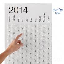 2014 Calendar Bubble