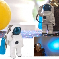 Astronaut LED Key Chain