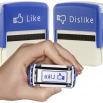Like and Dislike Stamps