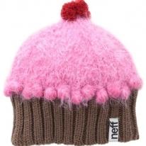 Neff Women's Fuzzy Cupcake Beanie