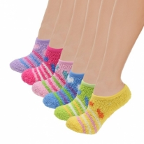 Soft Warm Microfiber Fuzzy Winter Socks