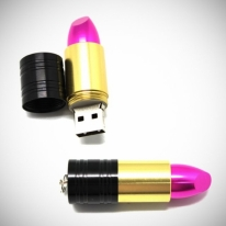 USB Lipstick Flash Drive