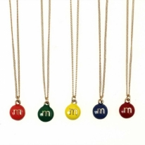 M&Ms Chocolate Necklace
