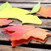 Maple Leaf-It Note Memo Sticker