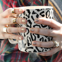 Oh My Gold! Nail Stickers