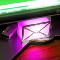 Unique USB Webmail Notifier