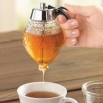 Vintage No Drip Honey Syrup Dispenser