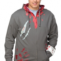 Zombie Attack Bloody Hoodie