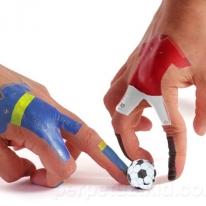 Cool Soccer Finger Tattoos