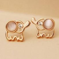Cute Little Elephant Earrings