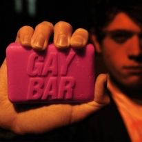 Pink Gay Bar Soap