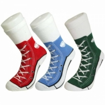 Silly Socks Baseball Boots