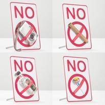 Amusing NO Sign Logo