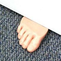 Fun Foot Shaped Door Stopper