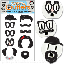 Funny Artistic Outlets Stickers
